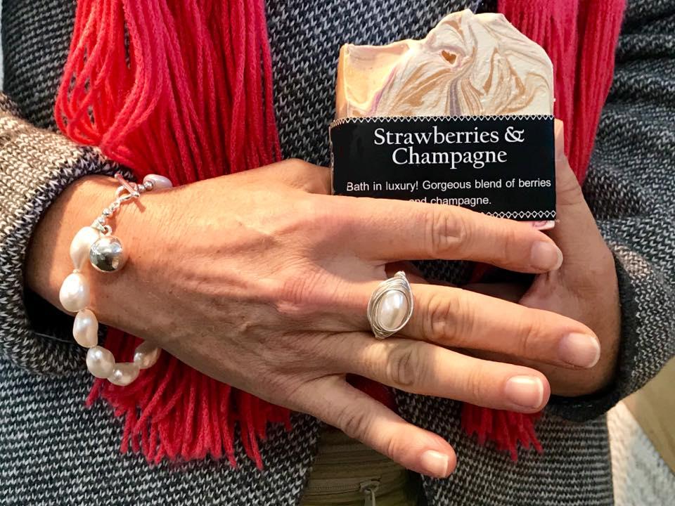 Strawberries Champagne