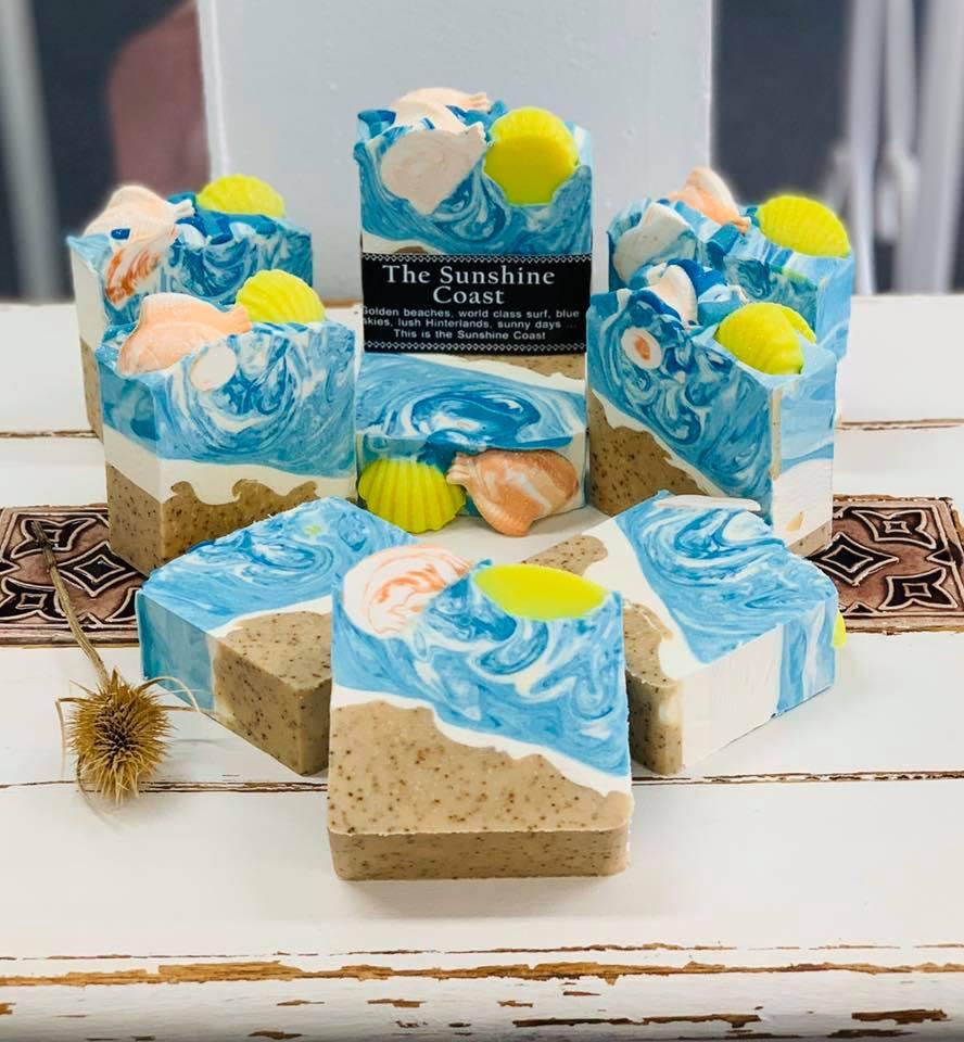 Soap Seashells